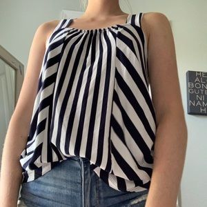 Banana Republic Striped tank EUC